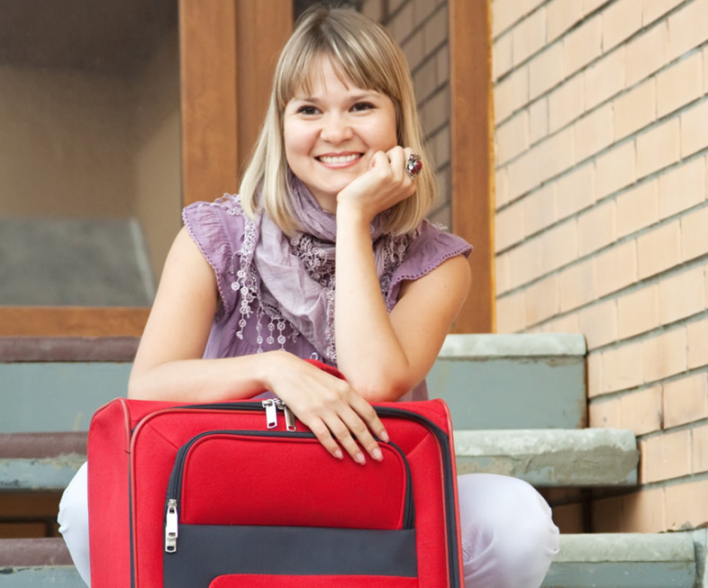 Abholservice | viel Gepäck