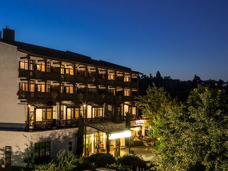 Außenansicht Aktiv & vital Hotel Residenz in Bad Griesbach im Rottal